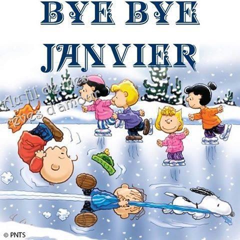 BYE BYE JANVIER...