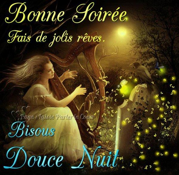 BONNE SOIREE & BONNE NUIT... (Bisous pandas belle animation de mon amie  Véro) - Les Créations de Marion suite
