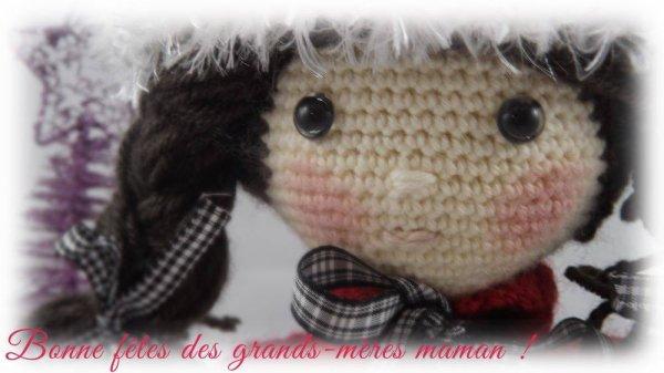 BELLE CREATION DE MA FILLE MARLENE POUR MA FETE DE MAMIE  ♥ http://symacohu.skyrock.com/