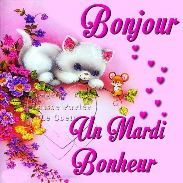 Bonjour Un Mardi Bonheur Les Créations De Marion Suite