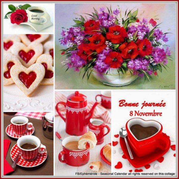 BON MARDI... 8 novembre... (Images chipées chez mon amie Josie) ♥