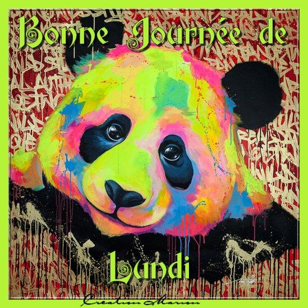 BONNE JOURNEE DE LUNDI...