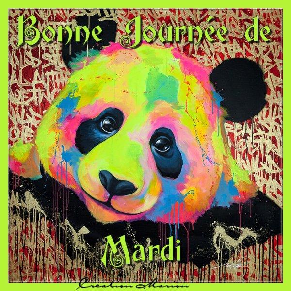 BONNE JOURNEE DE MARDI...