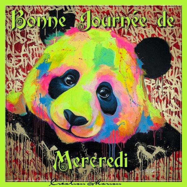 BONNE JOURNEE DE MERCREDI...
