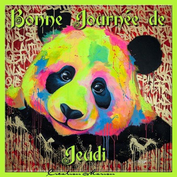 BONNE JOURNEE DE JEUDI...