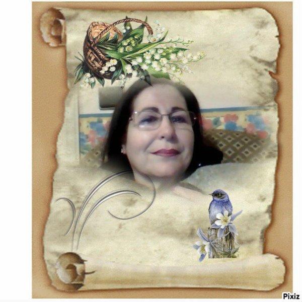 BEAU CADEAU DE MON AMIE MARIE-THERESE ♥