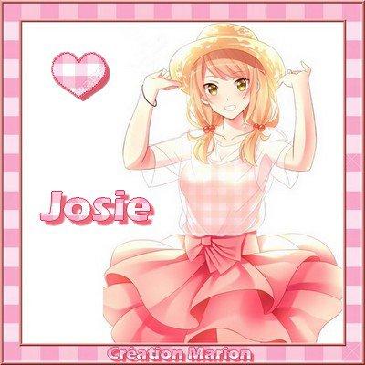 MERCI JOSIE POUR TES BEAUX CADEAUX QUE J'AI REMIXE CI-DESSOUS ♥ KDOS POUR TOI...