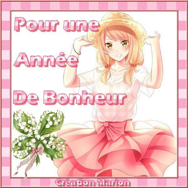 BEAU CADEAU DE MON AMIE PIERRETTE ♥