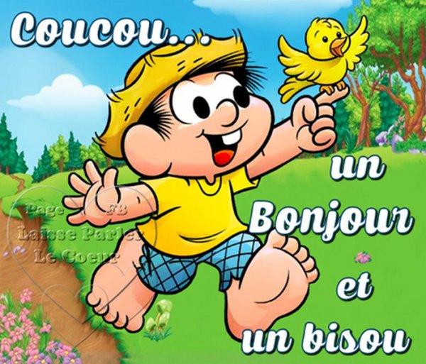 COUCOU... UN BONJOUR & UN BON WEEK-END