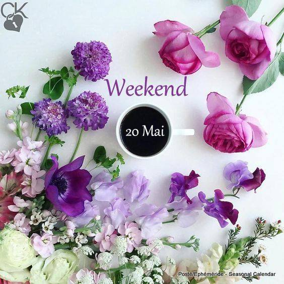 WEEK-END 20 MAI...