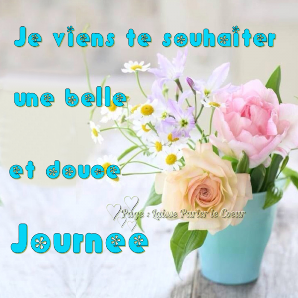 DOUCE JOURNEE... ET BON WEEK-END...