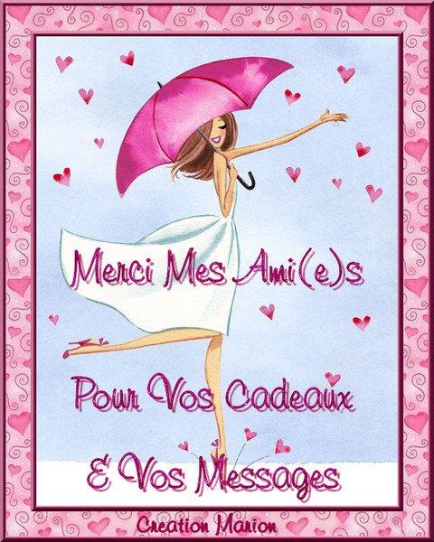 MERCI POUR VOS MESSAGES & CADEAUX POUR MON ANNIVERSAIRE ♥