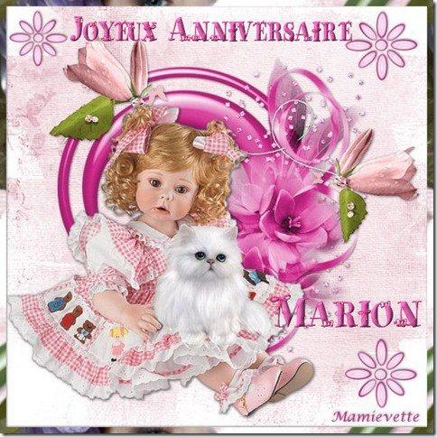 CADEAUX ANNIVERSAIRE DE MON AMIE MAMIEVETTE ♥