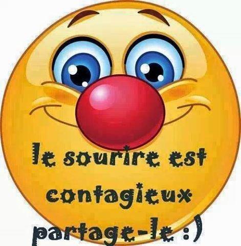 Le sourire est contagieux, partagez-le....