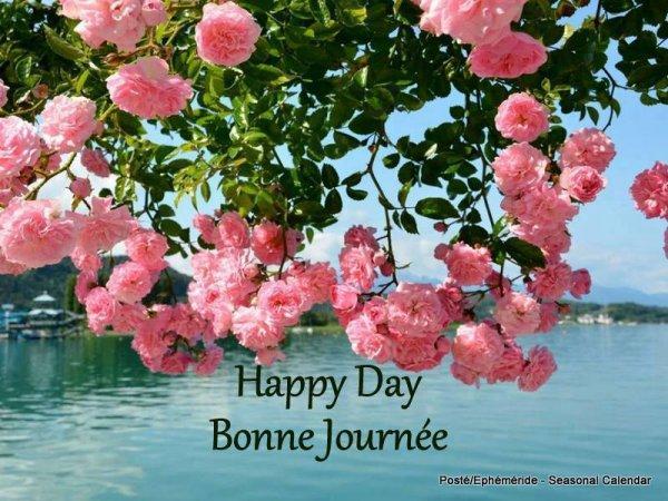 BONNE JOURNEE + IMAGES...