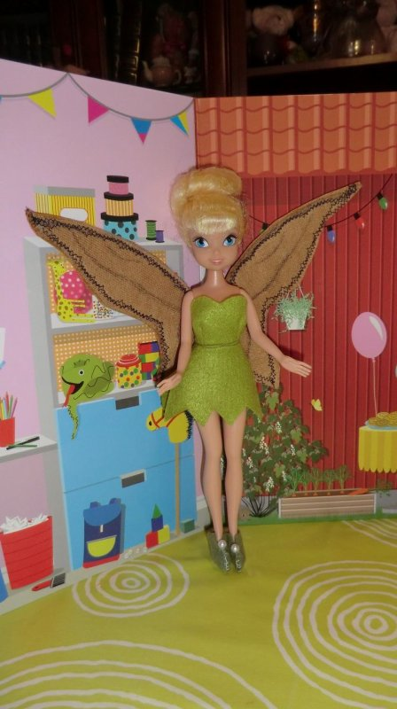 FEE CLOCHETTE rhabillée entièrement par Géraldine ailes comprises ♥
