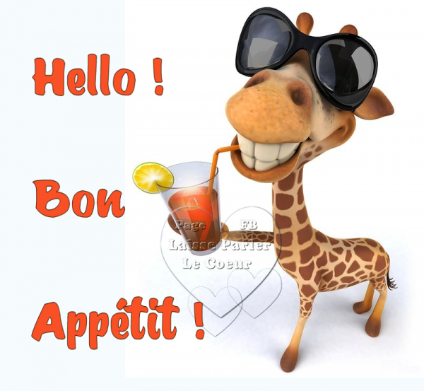 HELLO BON APPETIT...