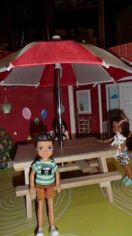 PETIT BOY DE BARBIE (MATTEL) offert par ma fille MARLENE ♥ 3/3