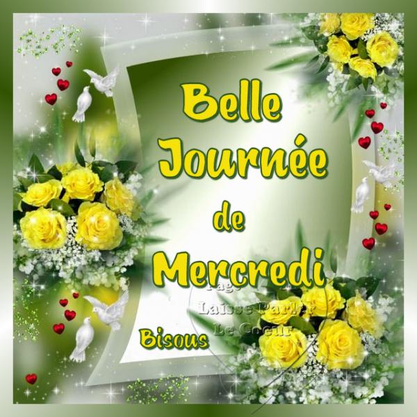 BELLE JOURNEE DE MERCREDI 28 JUIN...