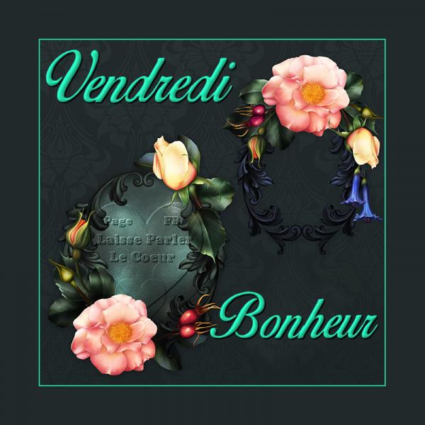 VENDREDI BONHEUR... BONJOUR...