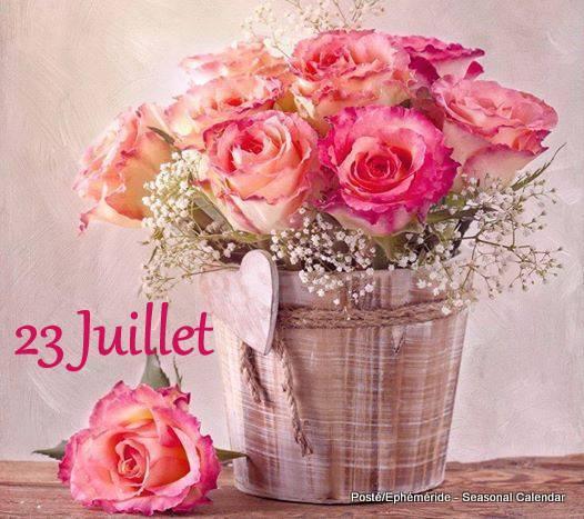 BELLE JOURNEE... DU 23 JUILLET...