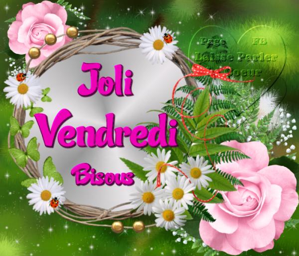 JOLI VENDREDI...