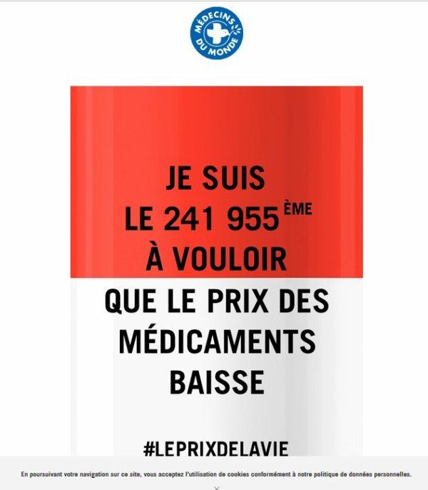 Une campagne choc de Médecins du monde censurée pour protéger les labos