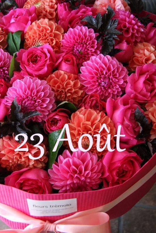 MERCREDI 23 AOÛT...