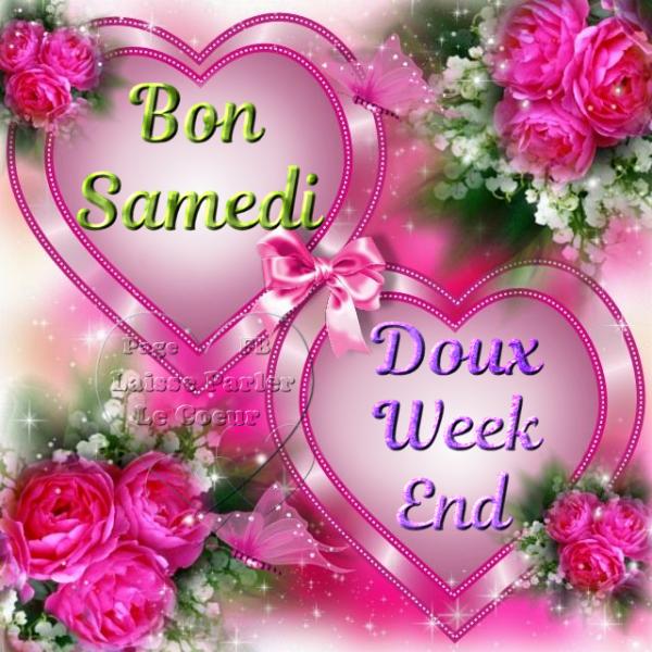 BON SAMEDI... DOUX WEEK-END... - Les Créations de Marion suite