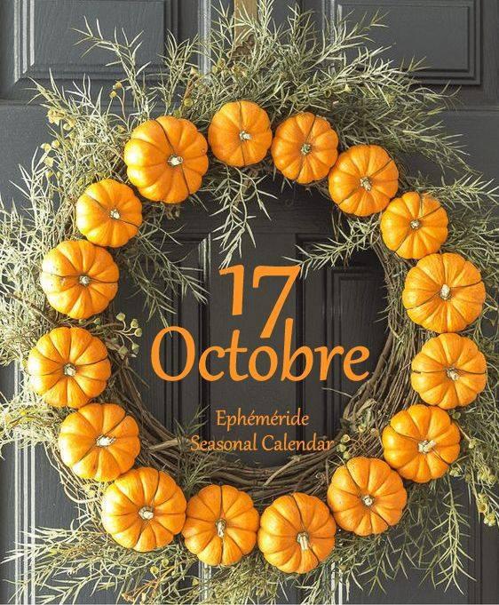 17 OCTOBRE... MARDI...