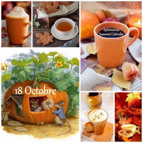 MERCREDI 18 OCTOBRE...