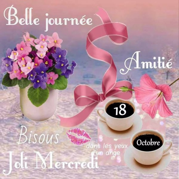 BELLE JOURNÉE DE MERCREDI...