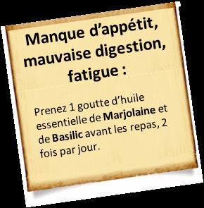 Mauvaise digestion et fatigue
