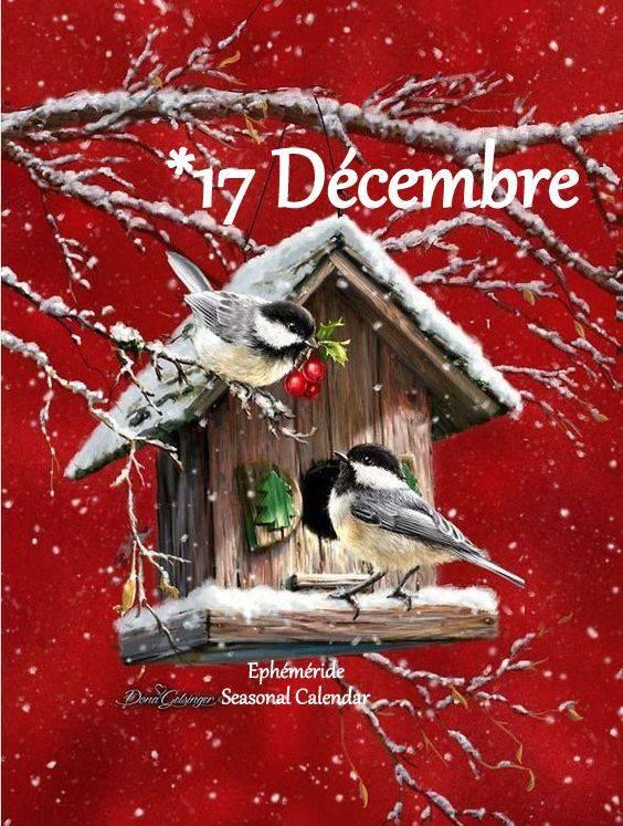 DIMANCHE 17 DÉCEMBRE...