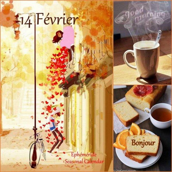 BONNE ST VALENTIN ♥ 14 FÉVRIER ♥