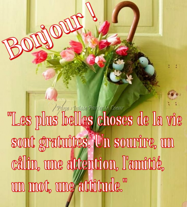 BON SAMEDI & BON WEEK-END ! - Les Créations de Marion suite