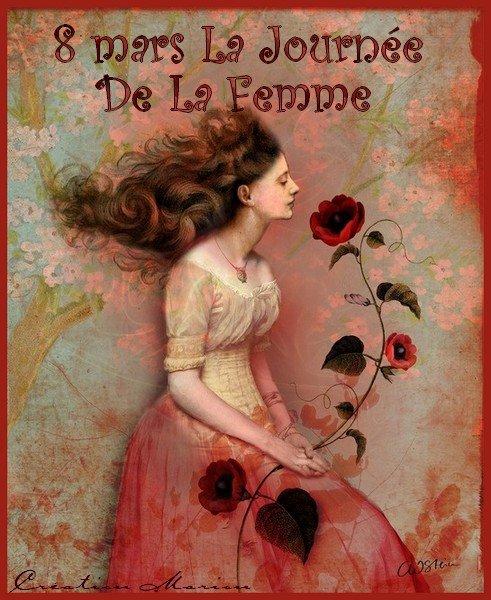 8 MARS JOURNEE DE LA FEMME... Prenez si vous aimez...