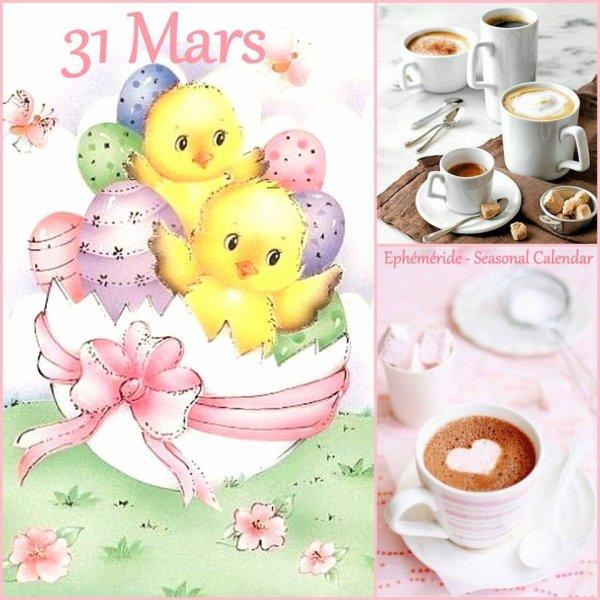 SAMEDI 31 MARS...