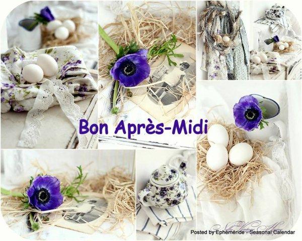 BON APRES-MIDI... & BON WEEK-END...
