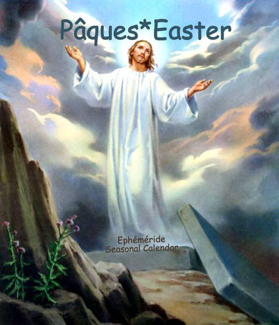 PÂQUES LA RÉSURRECTION...