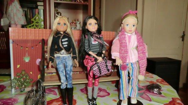 POUPÉES Moxie Teenz de Mga ♥ 37 cm ♥ achetées pour ma fille Marlène ♥ 3/3