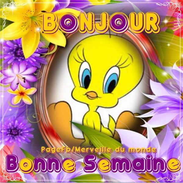 LUNDI BONNE SEMAINE & GROS BISOUS....