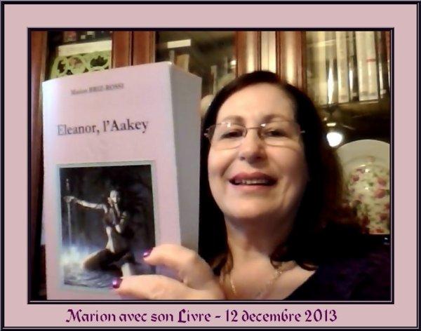 """RETOUR CHALEUREUX SUR LECTURE DE MON ROMAN """"ELEANOR, L'AAKEY"""" ♥"""