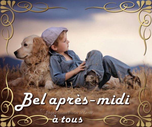 BEL APRES-MIDI....
