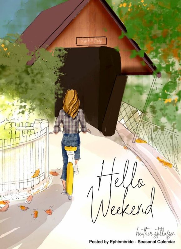 HELLO BON WEEK-END...