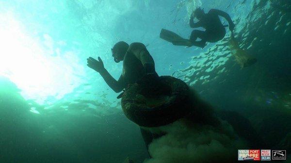 Project Rescue Ocean est à Vieux-Port Marseille Provence Métropole. VIDÉO dans l'article suivant.
