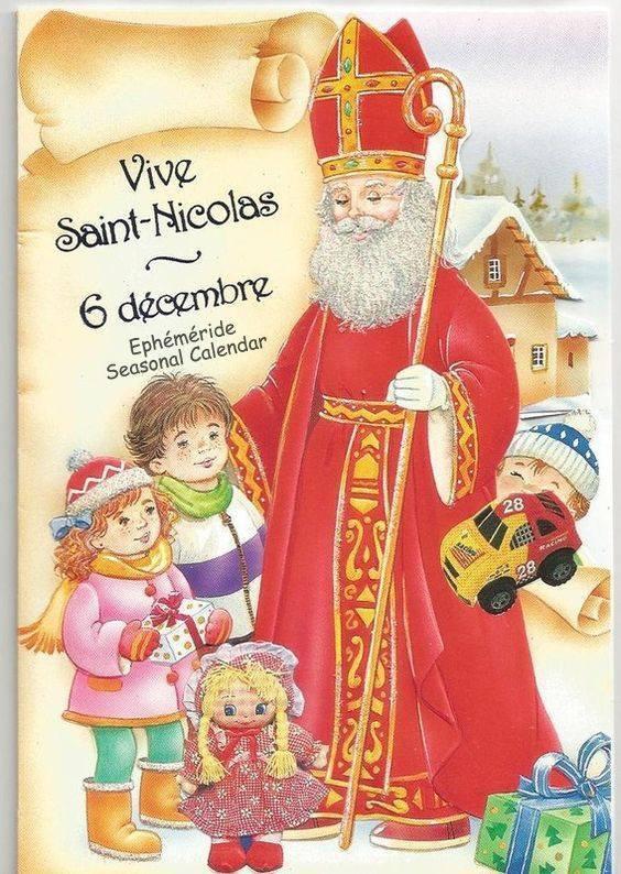 BONNE FÊTE DE ST NICOLAS - 6 décembre