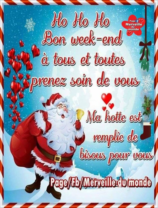BON VENDREDI & BON WEEK-END...