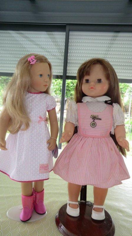 Reçue ce jour une belle poupée Tina - Zapf Création - de 1980 ♥  1/2