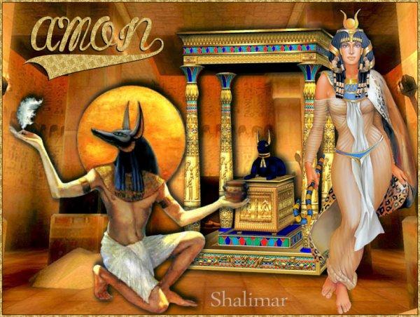 """DEUX BELLES CRÉATIONS """"EGYPTE"""" de deux de mes amies créatrices ELISE & SHALIMAR"""